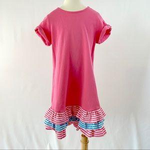 HANNA ANDERSSON Girl's Ruffle Hem Dress